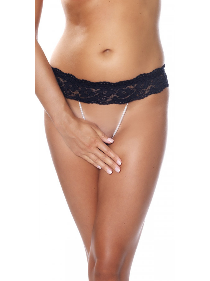 PleasureAndFun - G-String met parels