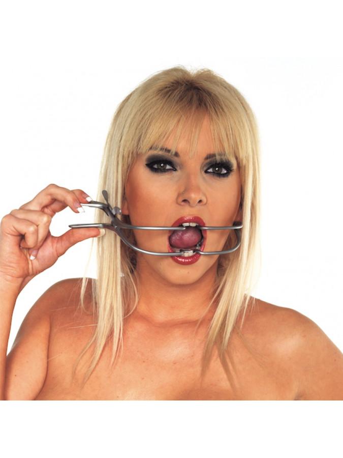 PleasureAndFun - Mondklem (Jennings chirurgisch staal)