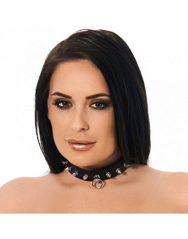 PleasureAndFun - Halsband  2.5 cm. breed