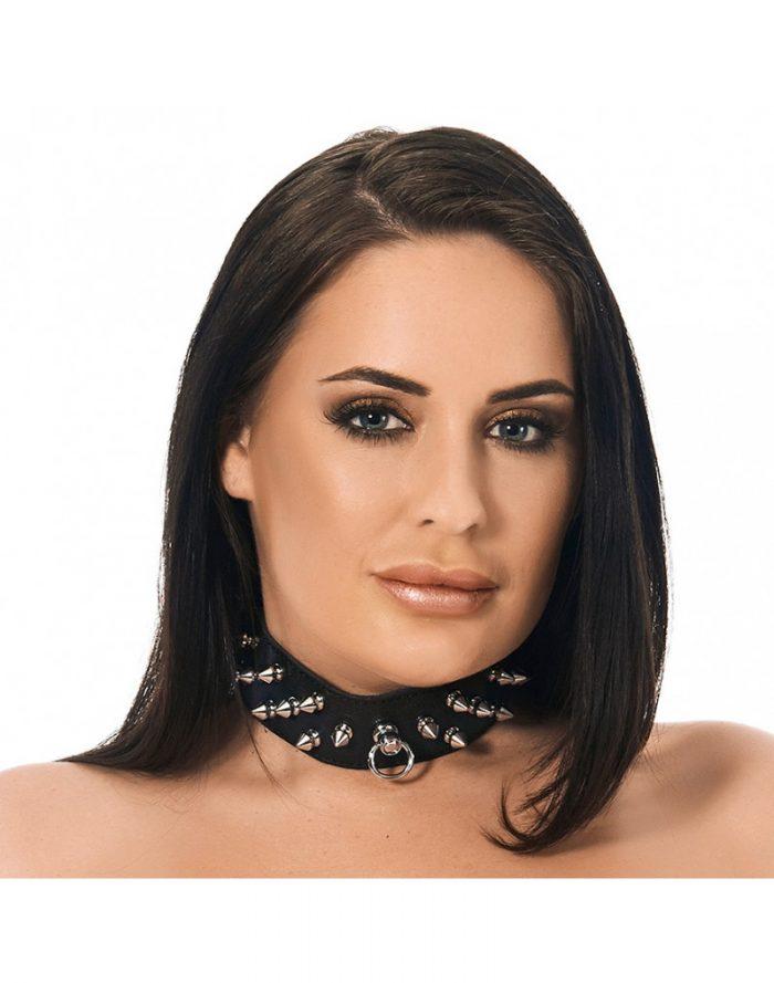 PleasureAndFun - Halsband  4 cm. breed