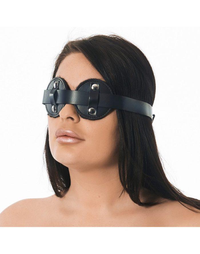 PleasureAndFun - Masker met kunstbont aan de binnenzijde
