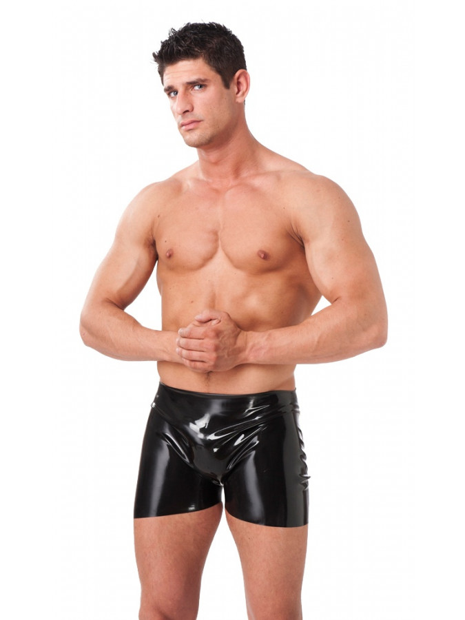 PleasureAndFun - Men's Shorts with open backside