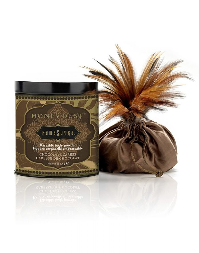 Kamasutra - Honey Dust Body Talc - Chocolate Caress
