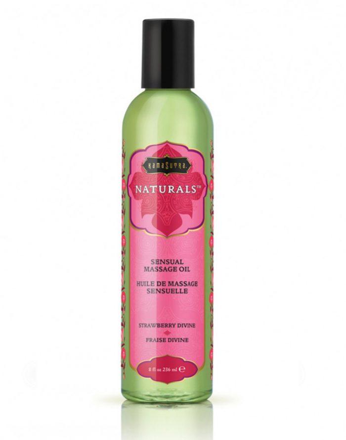 Kamasutra - Naturals Massage oil - Aarbei