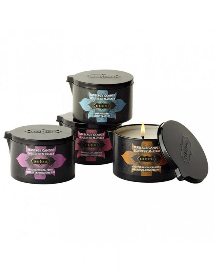 Kamasutra Massage Candle Tropical Plumeria