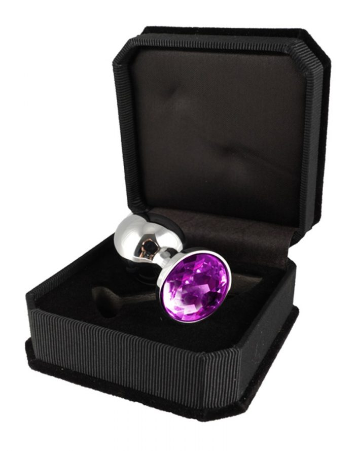 PleasureAndFun - Buttplug XS met kristal (unisex)