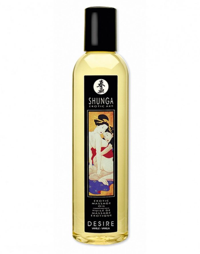Shunga - Massage olie - Desire Vanilla 250 ml.