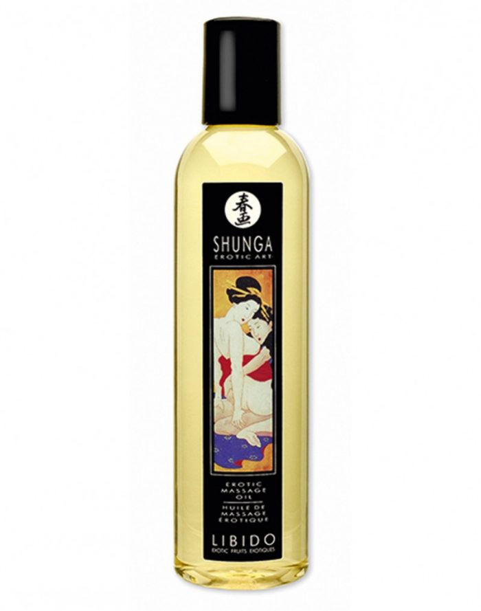 Shunga - Massage olie - Libido Exotic Fruits 250 ml.