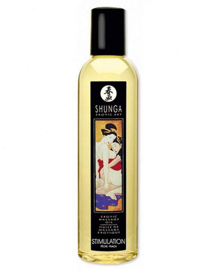 Shunga - Massage olie - Stimulation Peach 250 ml.