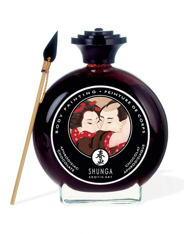Shunga - Body Paint - Aphrodisiac Chocolate 100 ml.