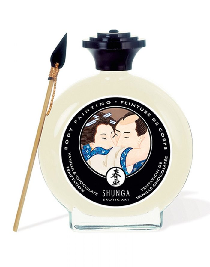 Shunga - Body Paint - Vanilla Chocolate Temptation 100 ml.