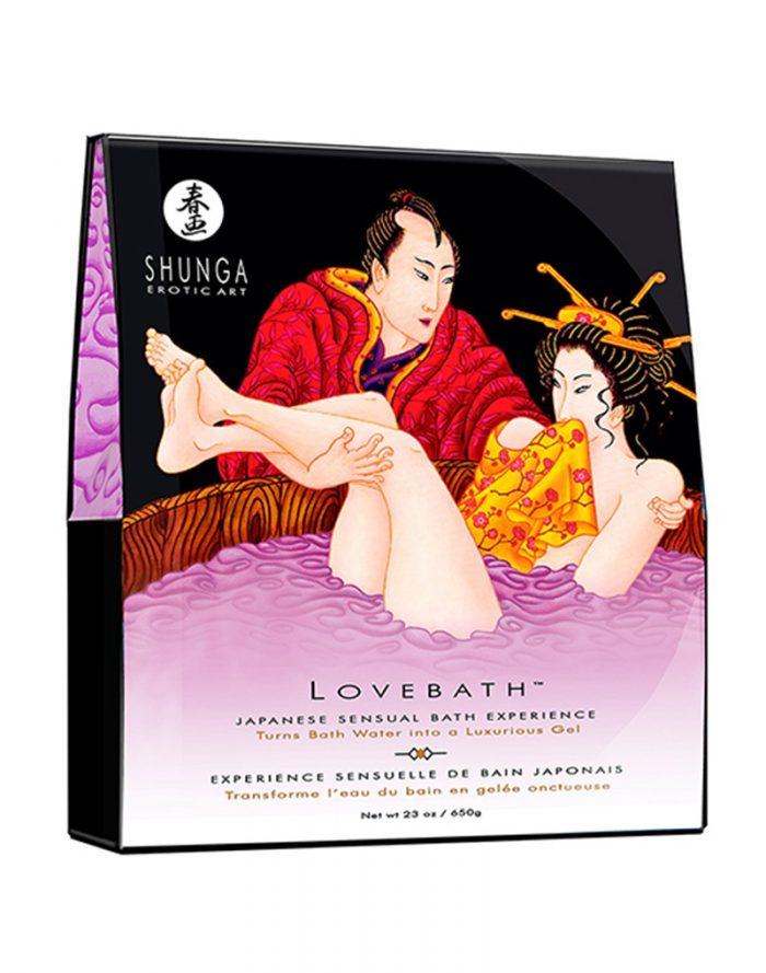 Shunga - Lovebath - Sensual Lotus 650 gr.