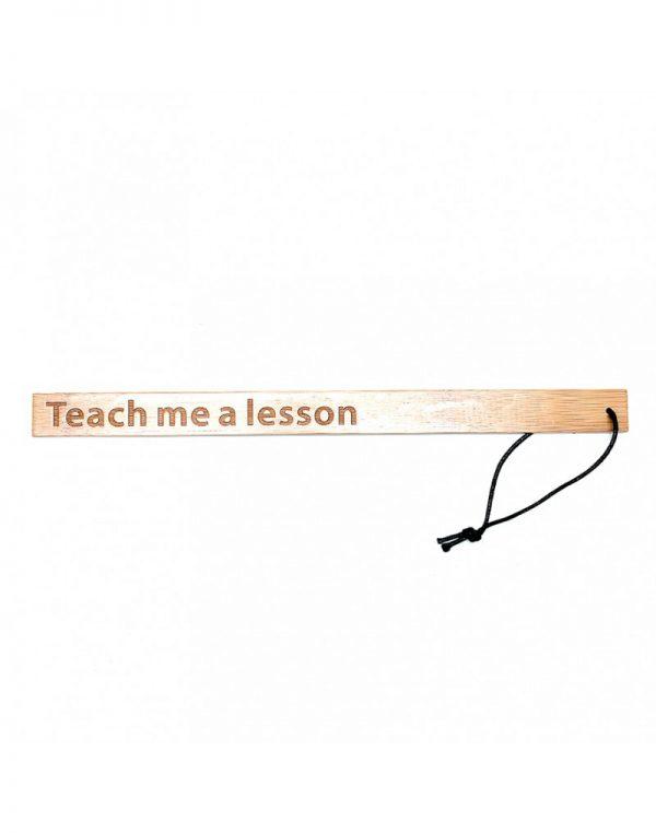PleasureAndFun – Teach Me A Lesson – Bamboe Lineaal