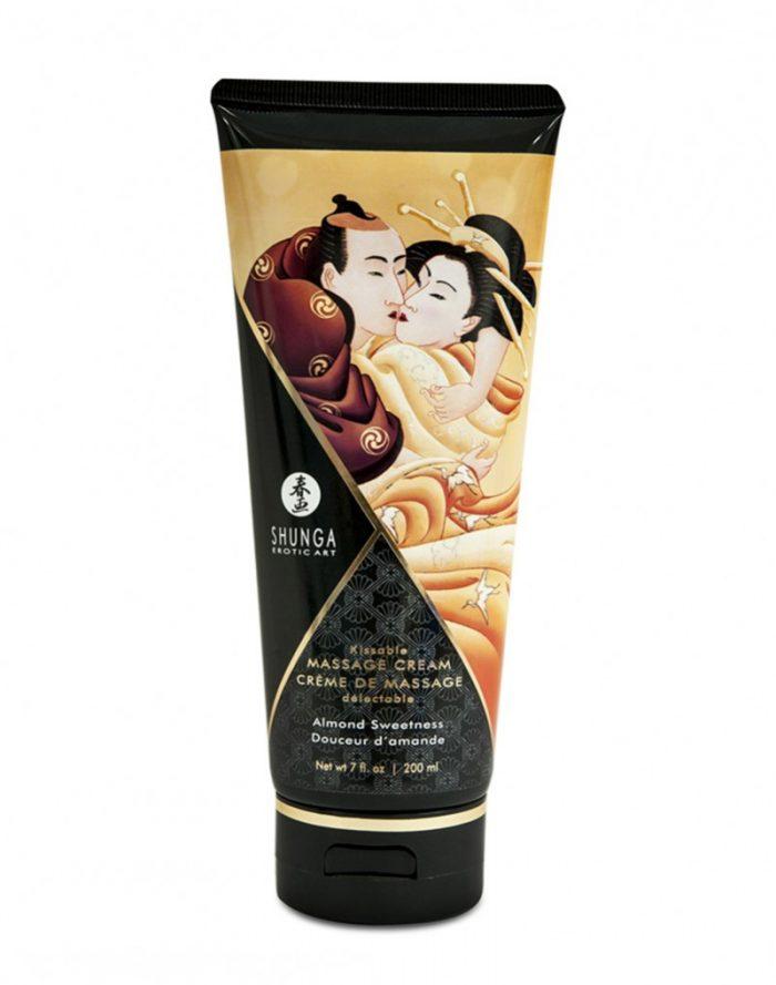 Shunga - Kissable Massage Cream Almond Sweetness 200ml.