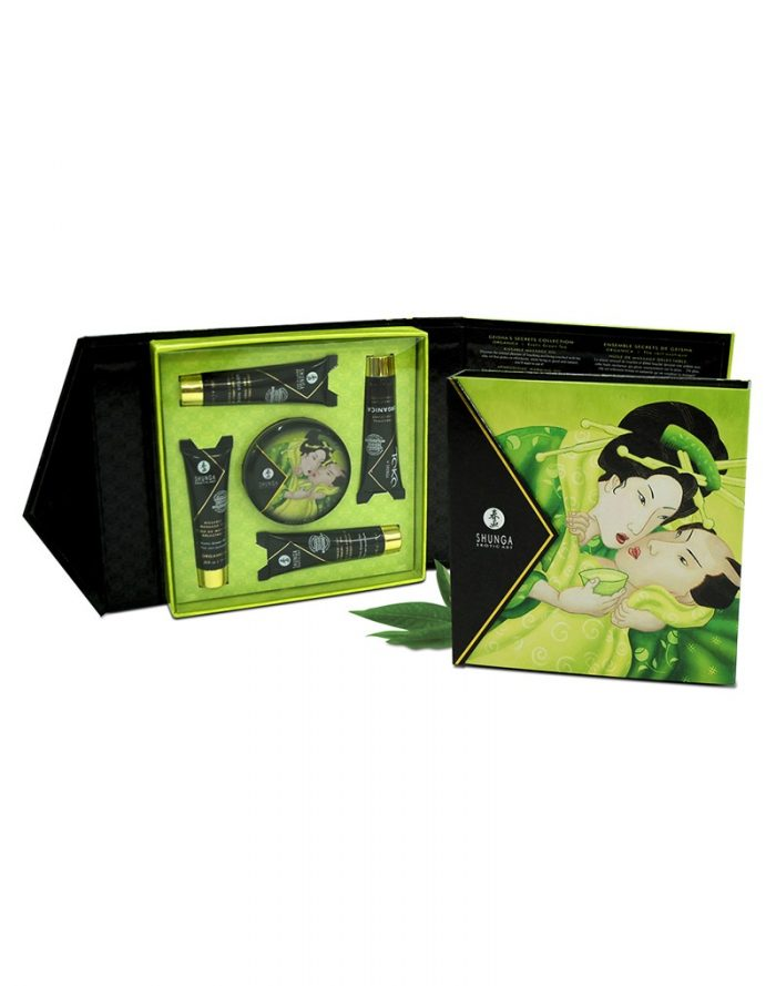 Shunga - Geisha Secret Kit Exotic Green Tea