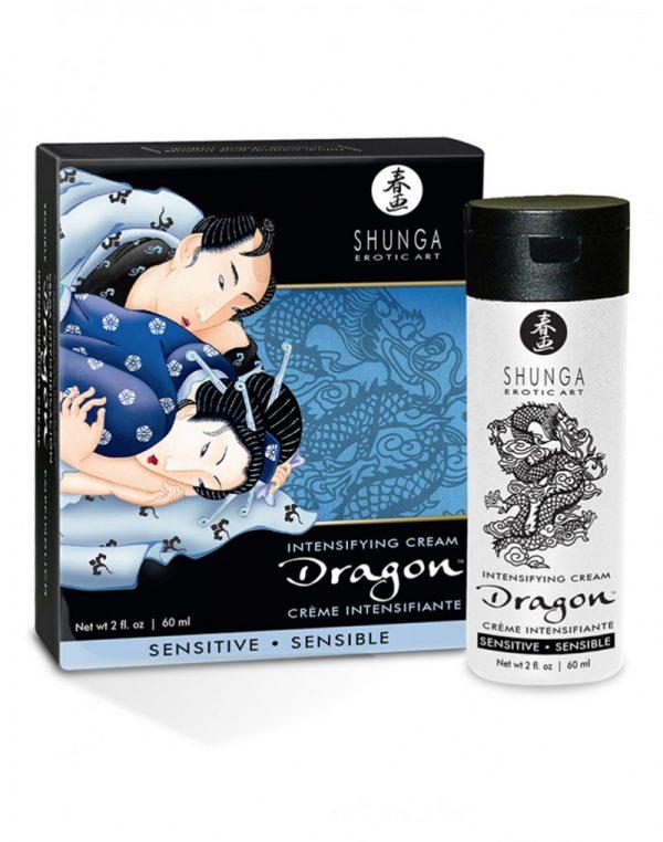 Shunga - Dragon Intensifying Cream Sensitive 60ml.