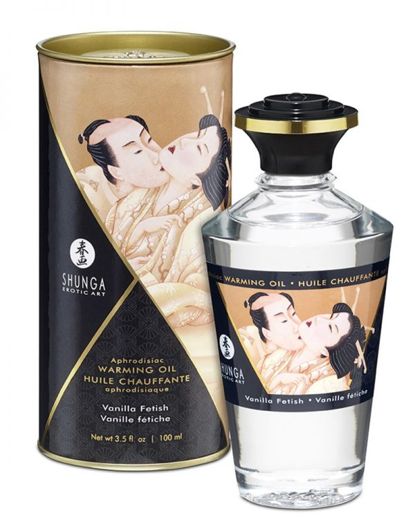 Shunga - Aphrodisiac Warming Oil - Vanille 100 ml