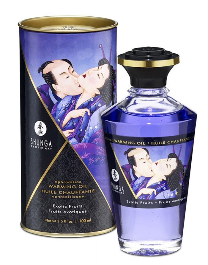 Shunga - Aphrodisiac Warming Oil - Exotic fruit 100 ml