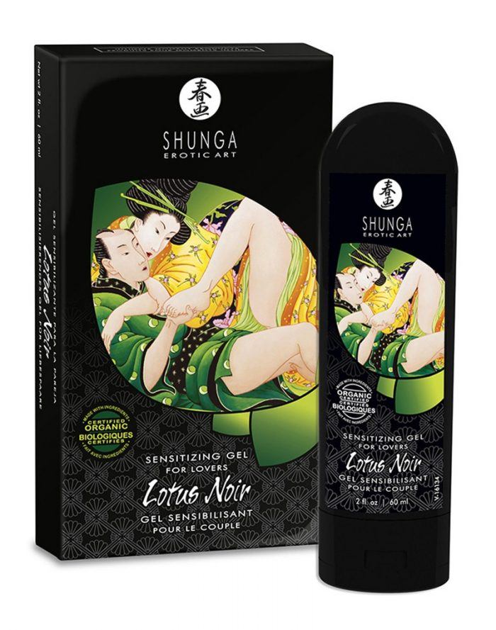 Shunga - Sensitizing gel for lovers - Lotus Noir 60ml