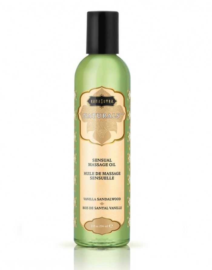 Kamasutra - Naturals Massage oil - Vanilla Sandelwood