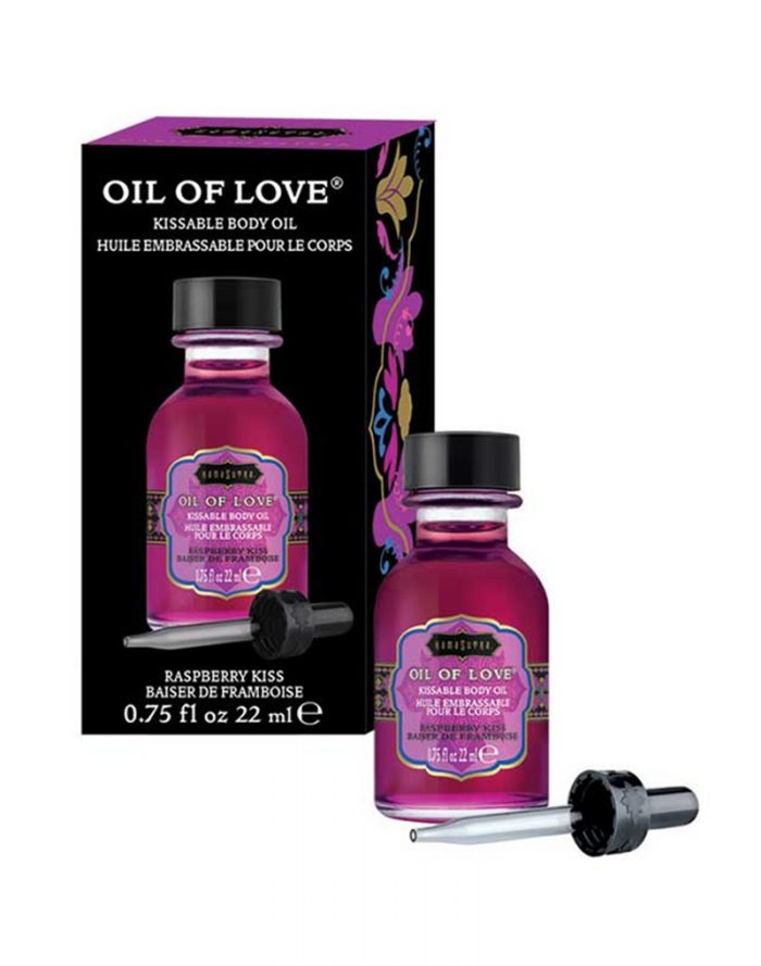 Kamasutra - Oil of Love - Raspberry Kiss 22ml.