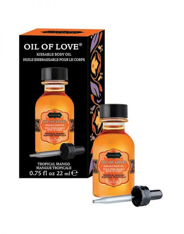 Kamasutra - Oil of Love - Tropical Mango 22ml.