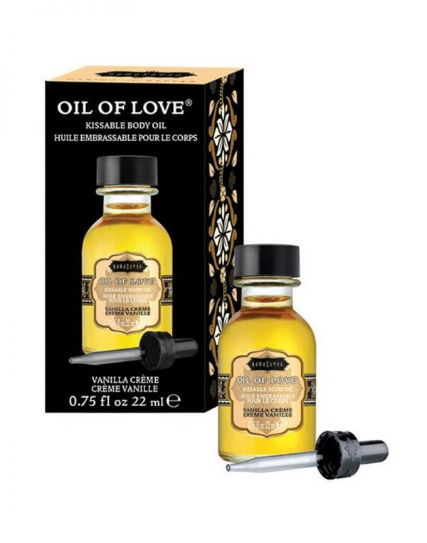 Kamasutra – Oil of Love – Vanilla Cream 22ml.