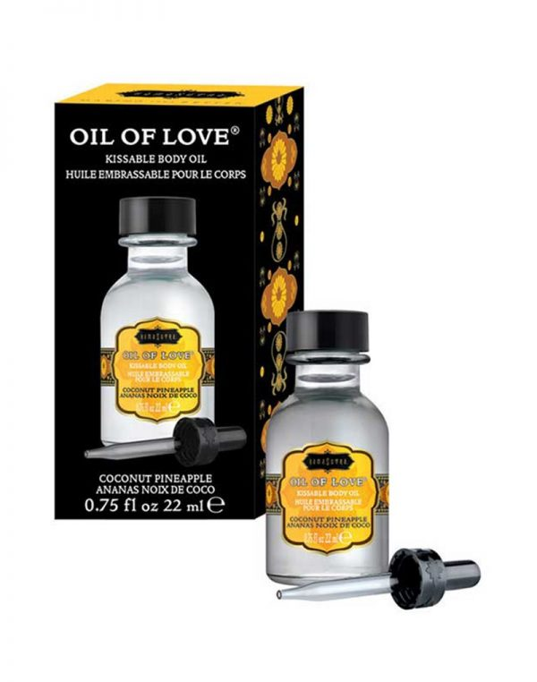 Kamasutra – Oil of Love – Coconut Pineapple 22ml.
