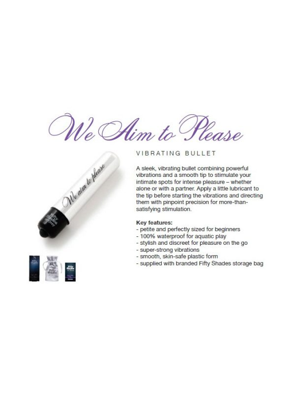 Aim to Please – FSoG Vibrating Bullet