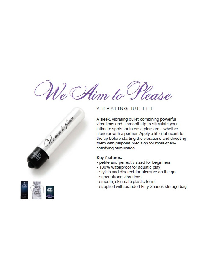 Aim to Please - FSoG Vibrating Bullet