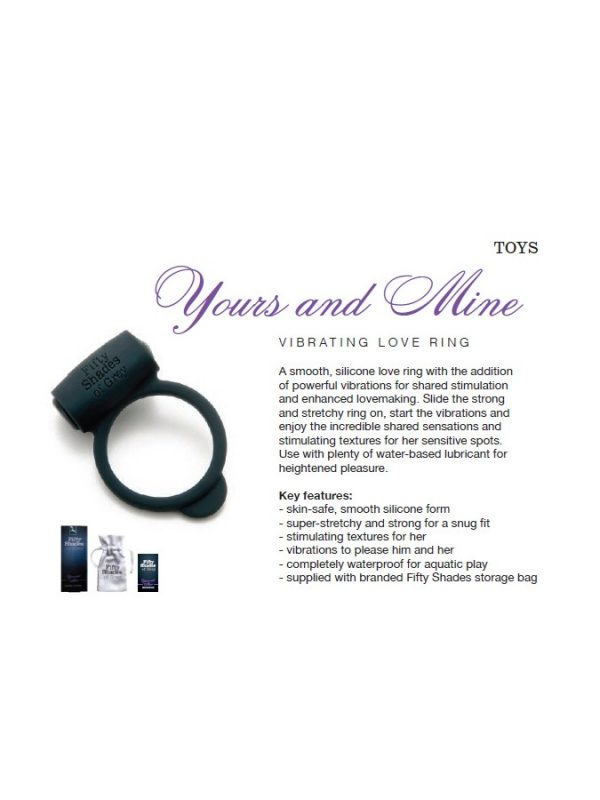 Yours and Mine – FSoG Vibrating Love Ring