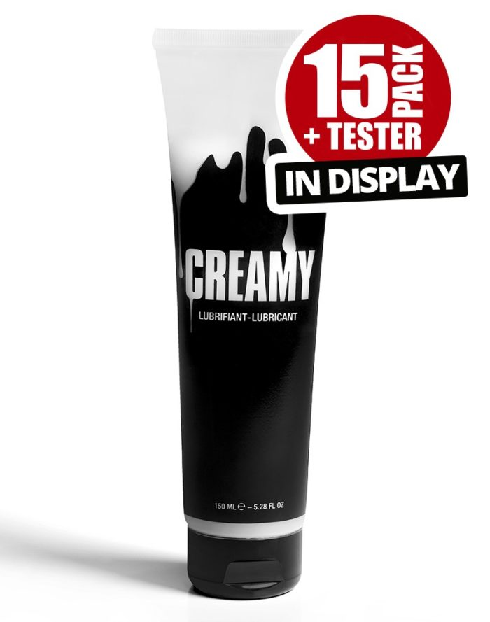 Creamy 15 Pack plus tester en Display