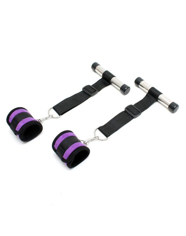 PleasureAndFun - Over the door cuffs set