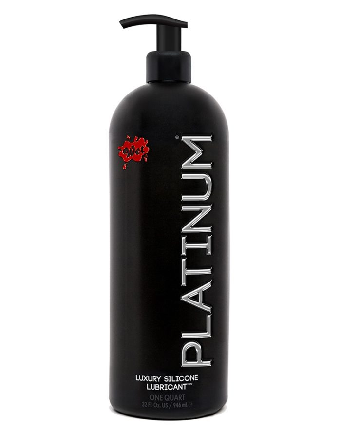 Wet Platinum Silicone 946ml.