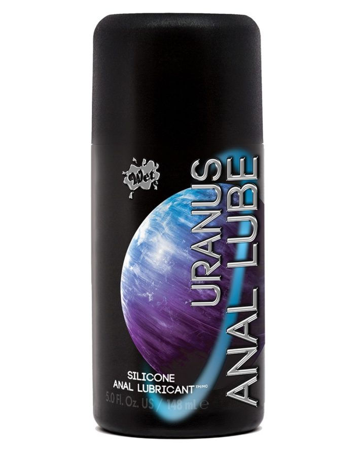WET Uranus Anal Lube Silicone 148ml