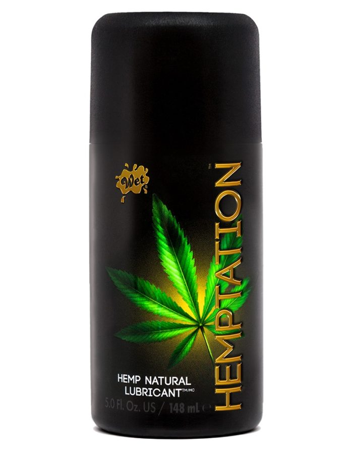 WET Hemptation Natural Hemp Formula Lubricant 148ml.