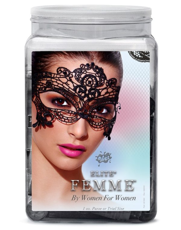 WET Elite Femme assorted 36 x 30ml. in Counter Bowl