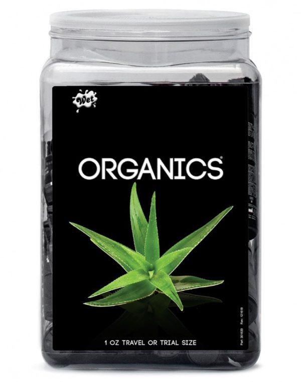 WET Organics 36 x 30ml. Counter Bowl display