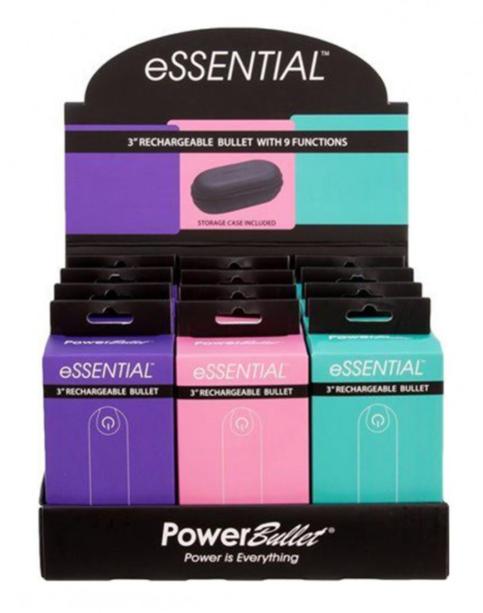 Power Bullet Essential display 12 pcs