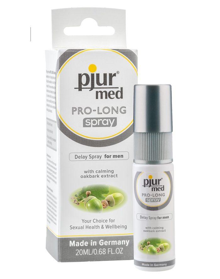 """Pjur med Pro-long """"delay"""" spray"""