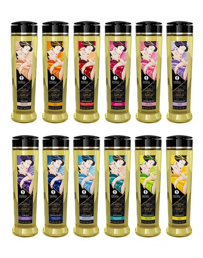 Shunga - Massage Olie - Libido Exotic Fruits - 240 ml