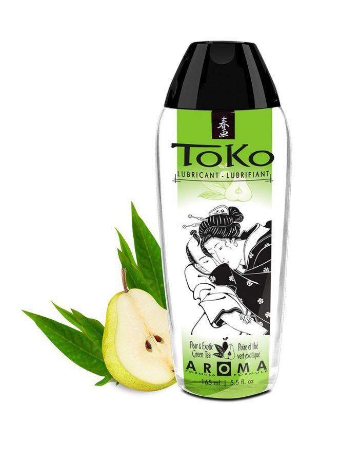 Shunga - Toko Peer & Groene Thee - Glijmiddel op waterbasis - 165 ml